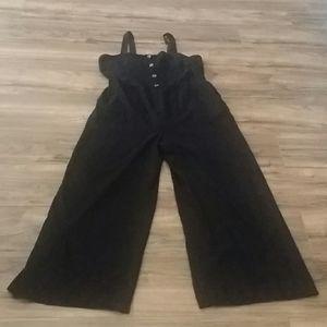 Black jumpsuit XL